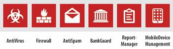 G Data Client Security Funktionen