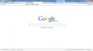 Startseite Google